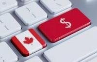 touche clavier drapeau canada dollar